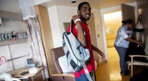 史丹和他的心臟背包(圖:密歇根大學)
