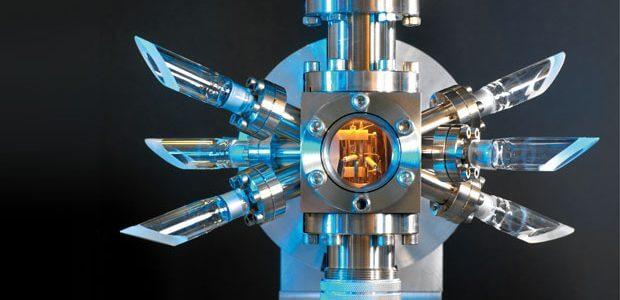 光學原子鐘 (圖:NPL)