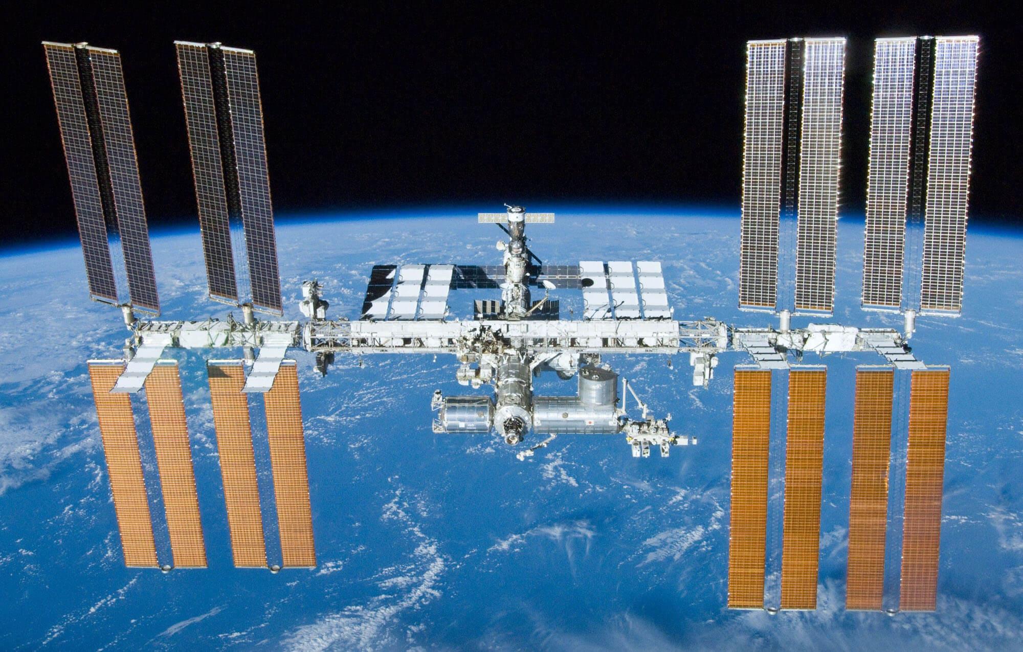 目前的國際太空站 (圖:ISS)
