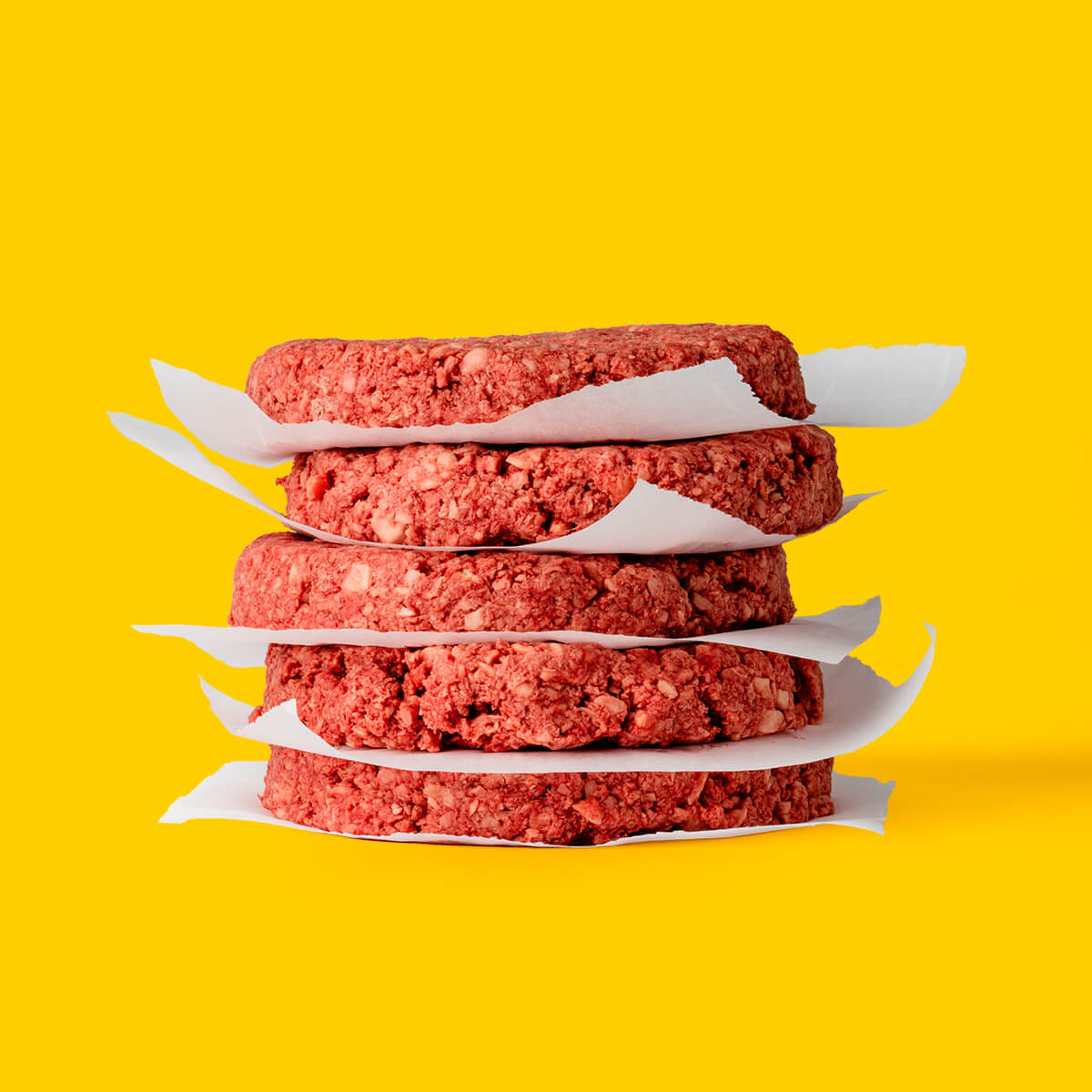 新鮮的素牛排外型與牛肉漢堡排無異 (圖:Impossible Foods)