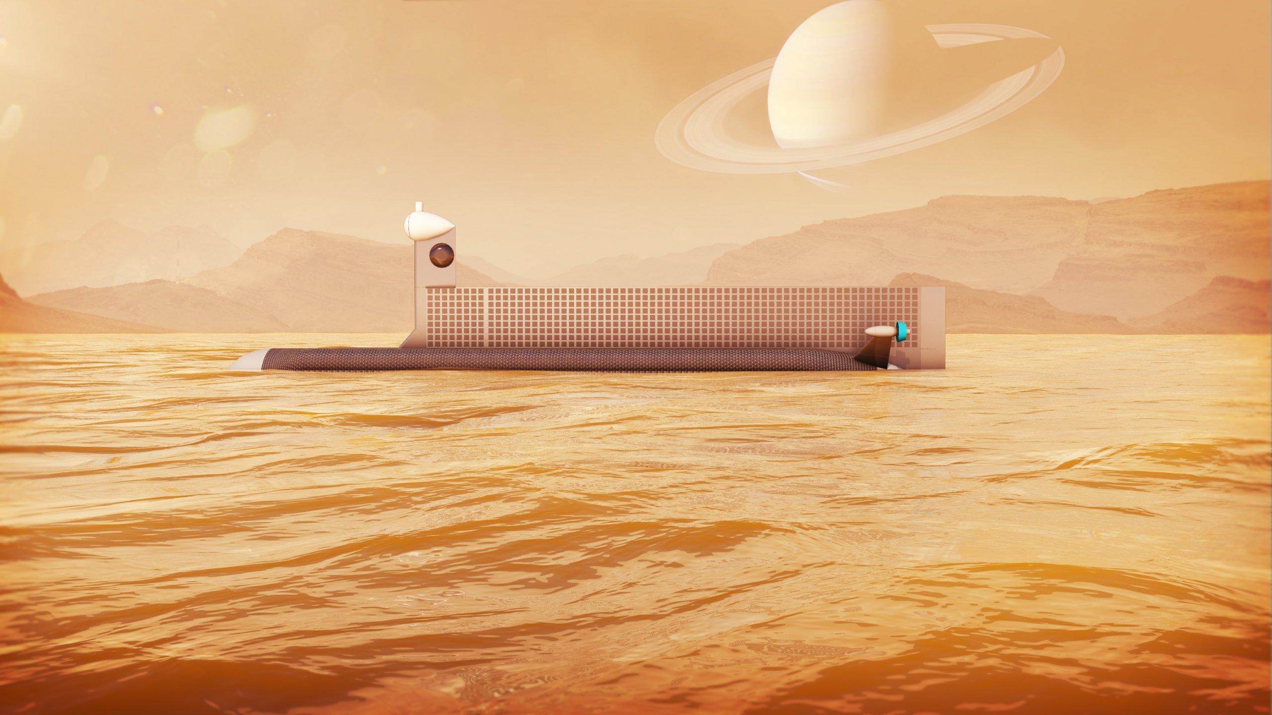泰坦星潛艇外星生命