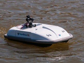 荷蘭港口水上無人機
