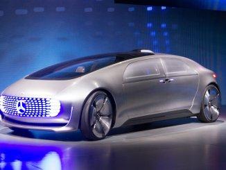 賓士的自動駕駛概念車(圖:Gizmodo)