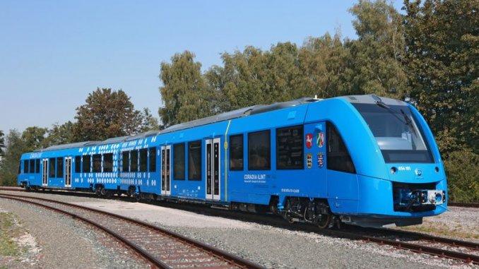 氫燃料載客火車