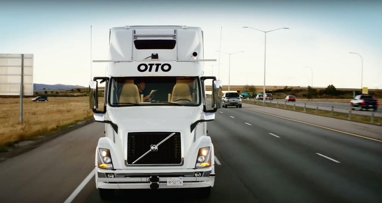 自動駕駛無人貨車