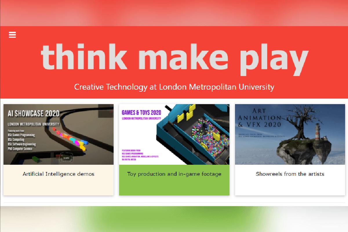 London Metropolitan University遊戲開發設計系的科系網頁