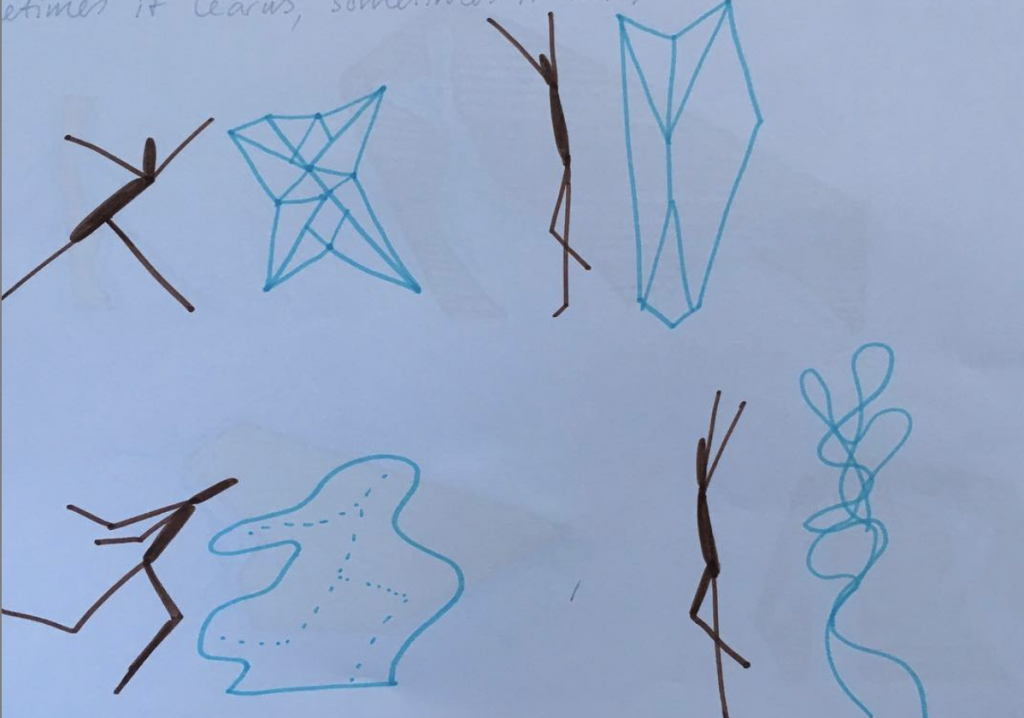 創辦人Matt Pyke繪製的概念草圖